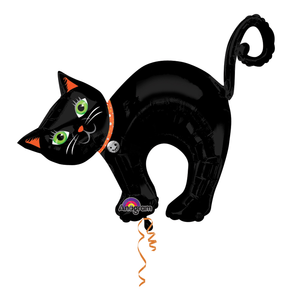 Halloween Cat Super Shape