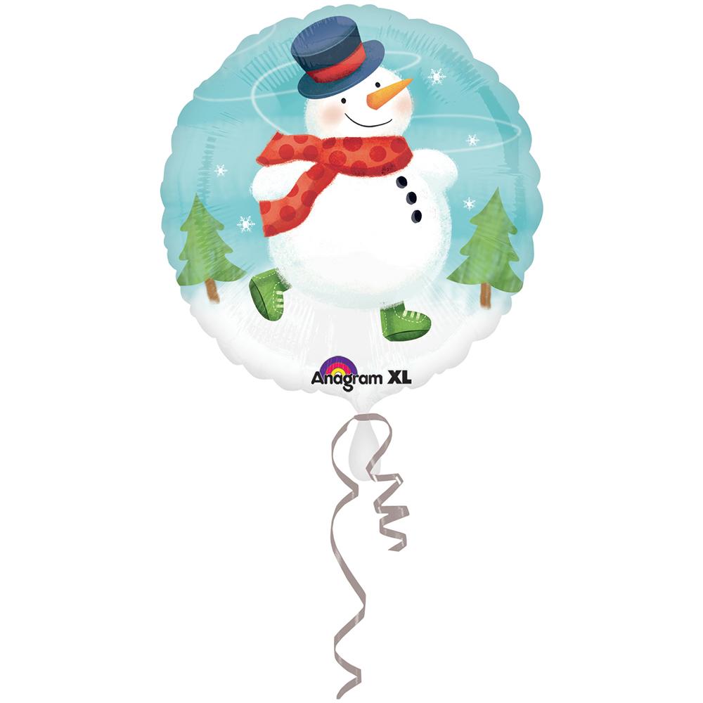 Whimsical Snowman