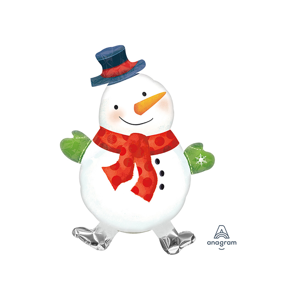Mini Shape Whimsical Snowman