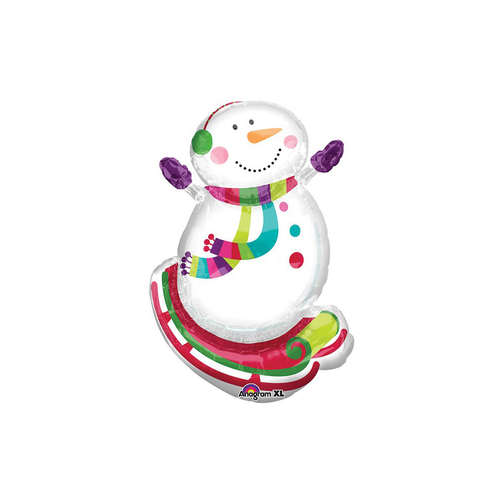 Mini Shape Joyful Snowman