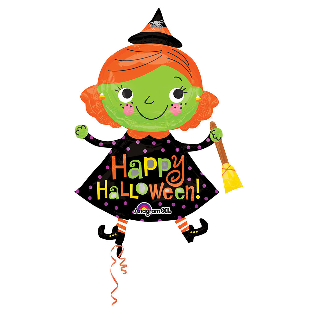 Halloween Cute Witch Super Shape