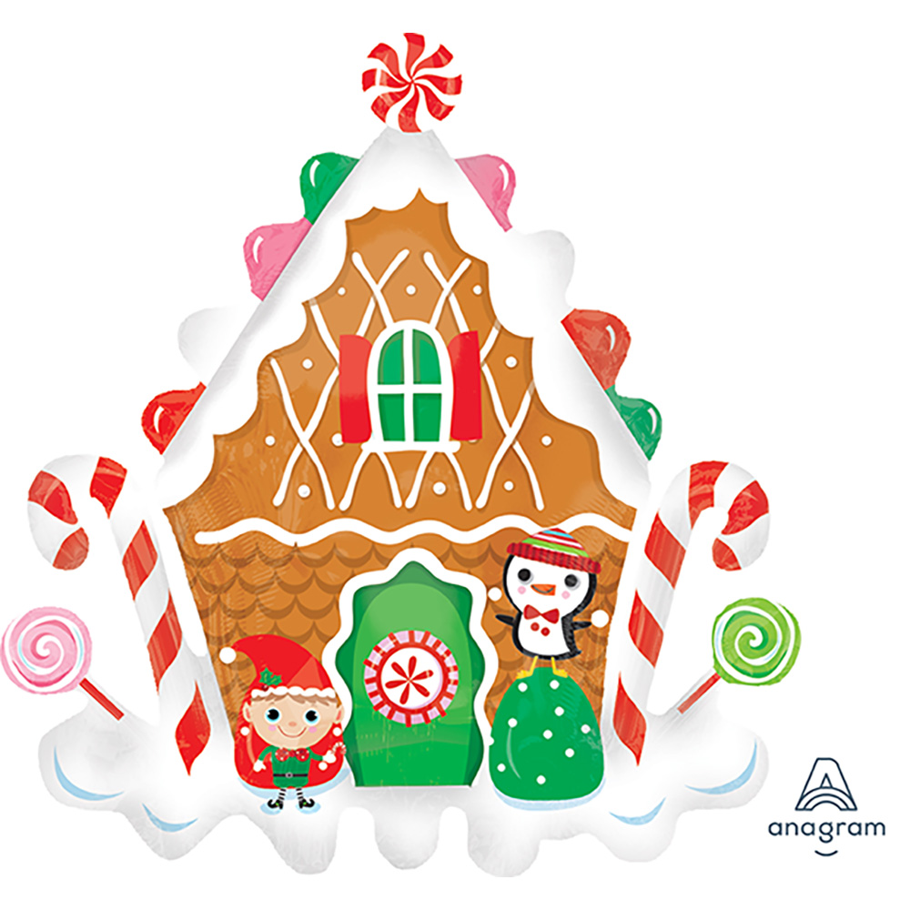 Gingerbread House Super Shape