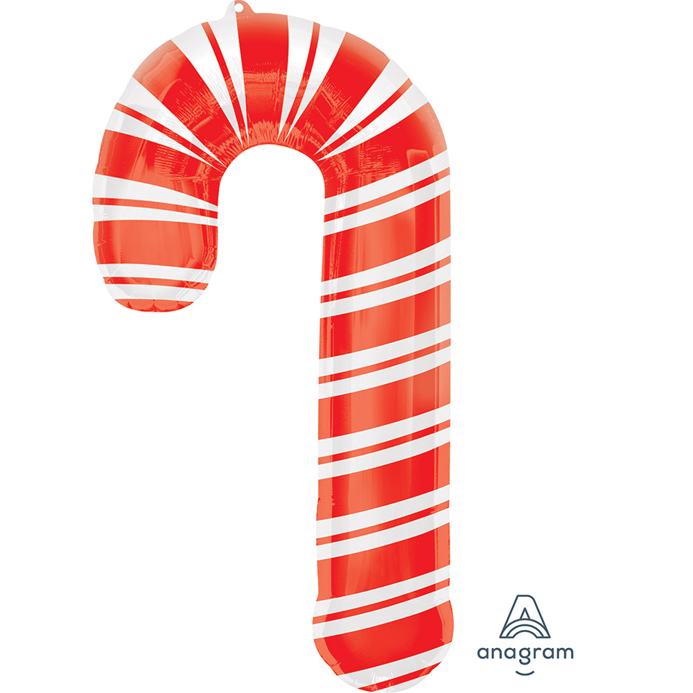 Holiday Candy Cane Super Shape