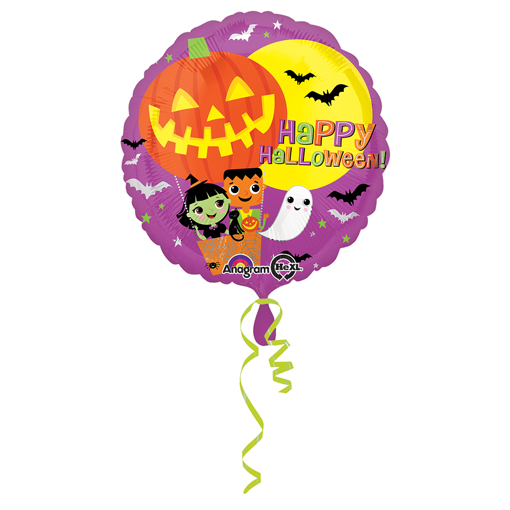 Halloween Hot Air Balloon