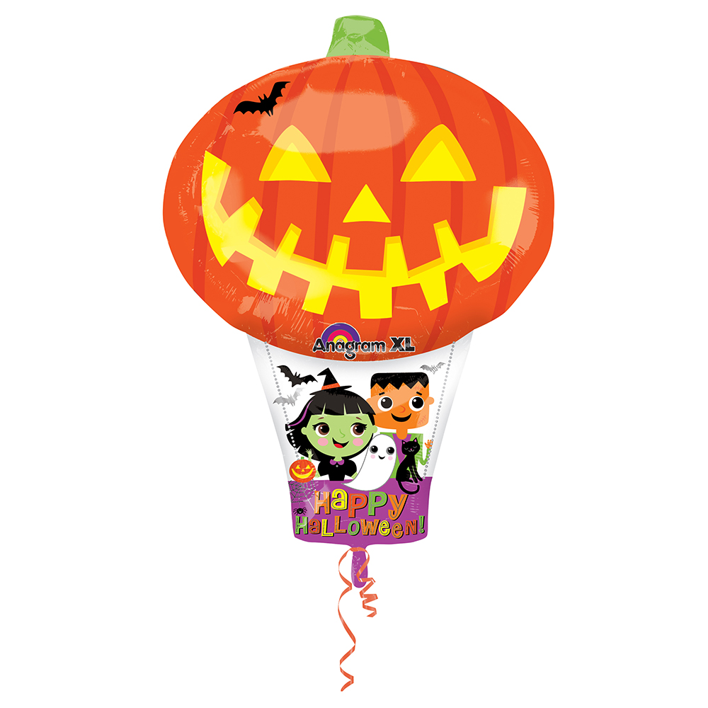 Pumpkin Hot Air Balloon Junior Shape