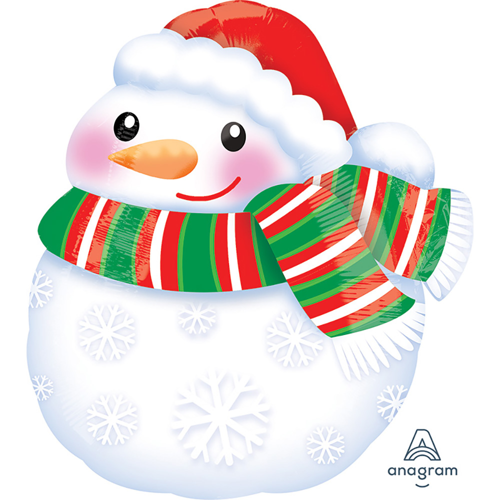 Bundled Up Snowman Junior Shape
