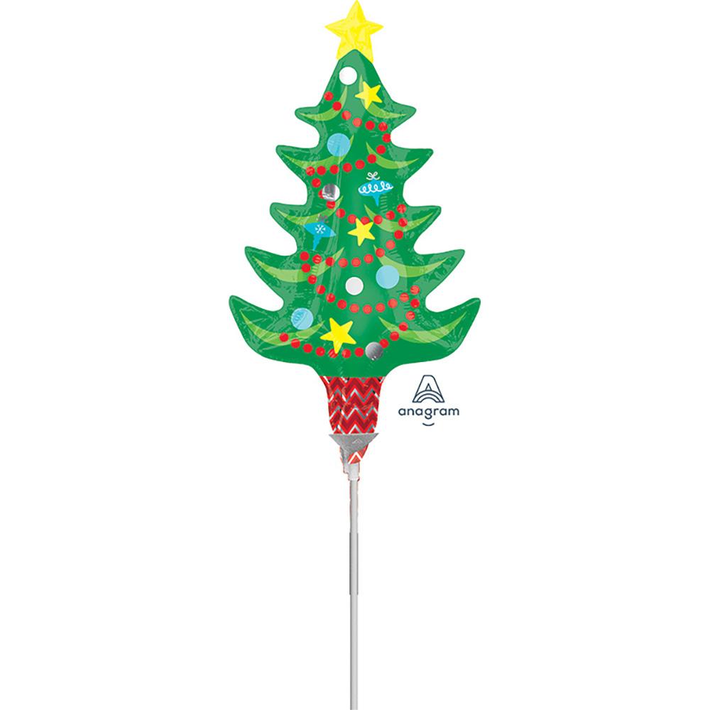 Mini Shape Festive Tree with Star