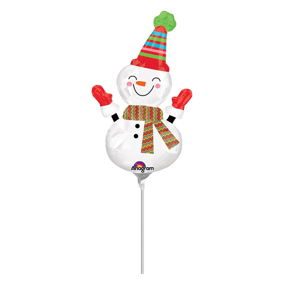 Mini Shape Smiley Snowman