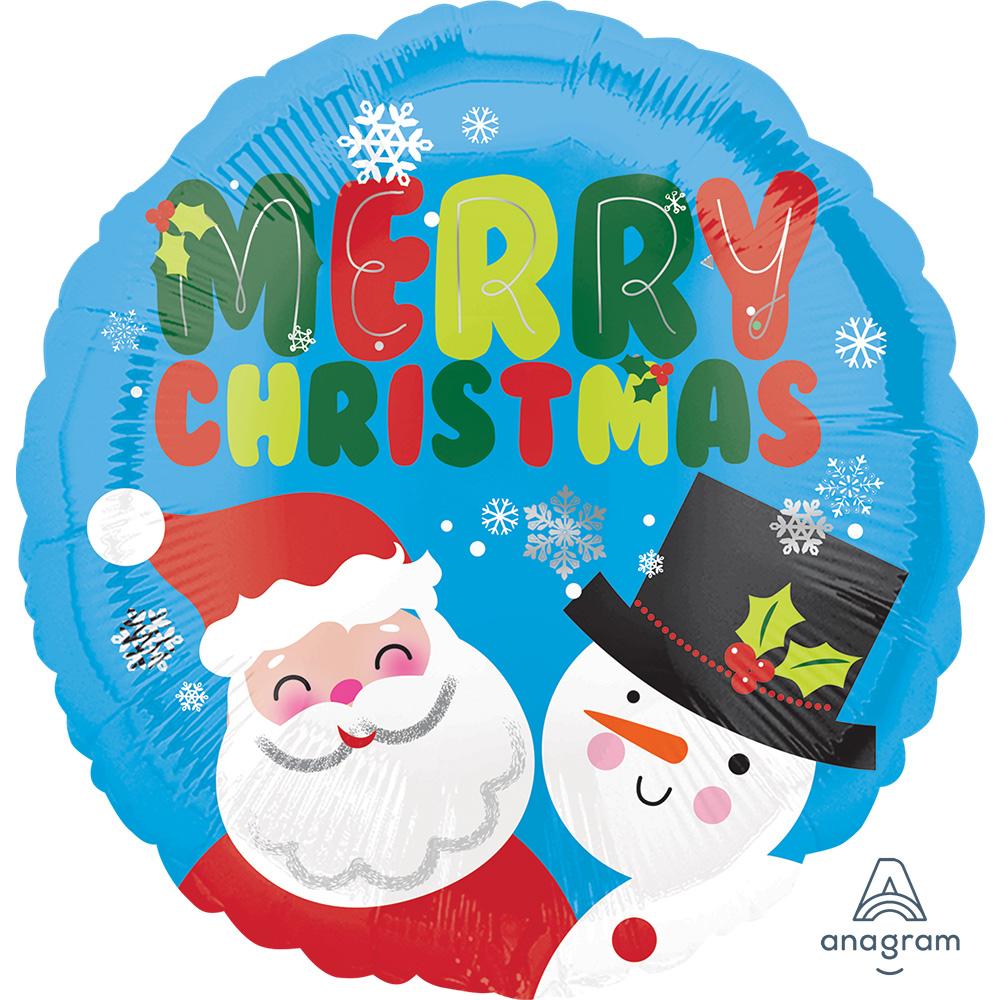 33977 サンタ & スノーマン クリスマス