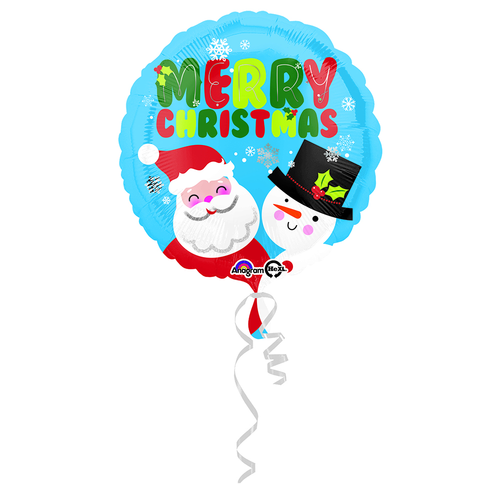 Santa & Snowman Christmas