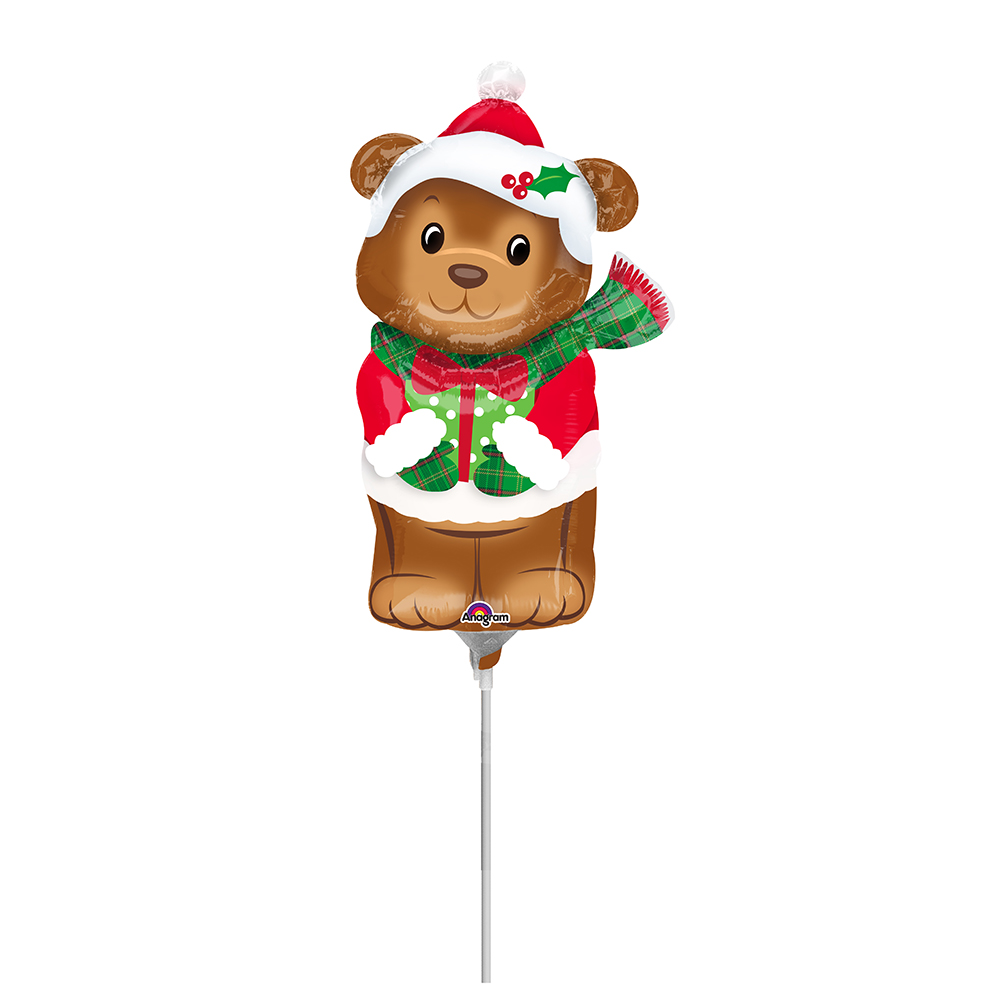 Mini Shape Christmas Bear