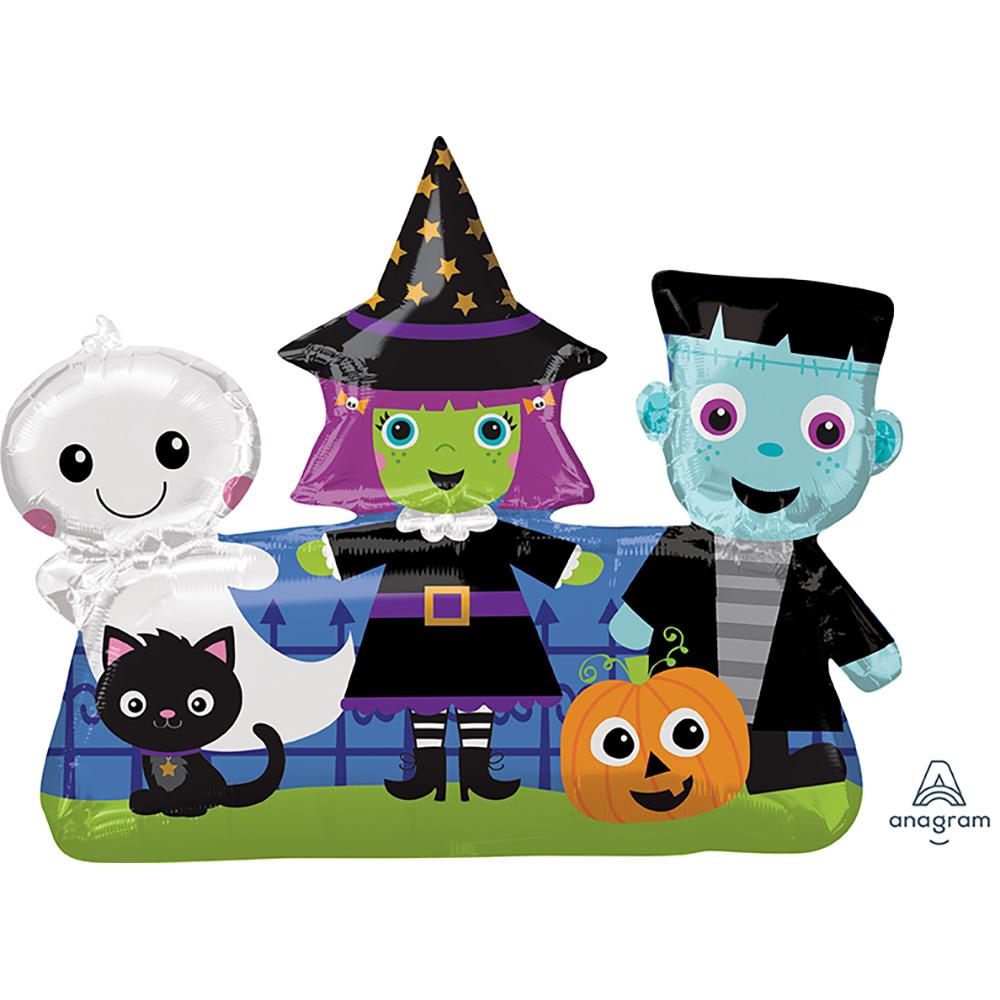 Halloween Friends Super Shape