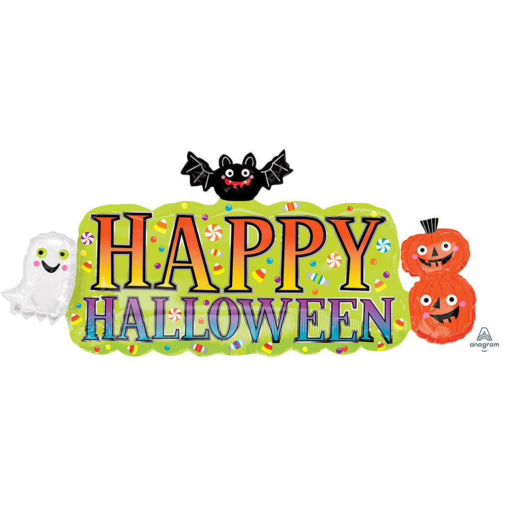Halloween Banner Super Shape