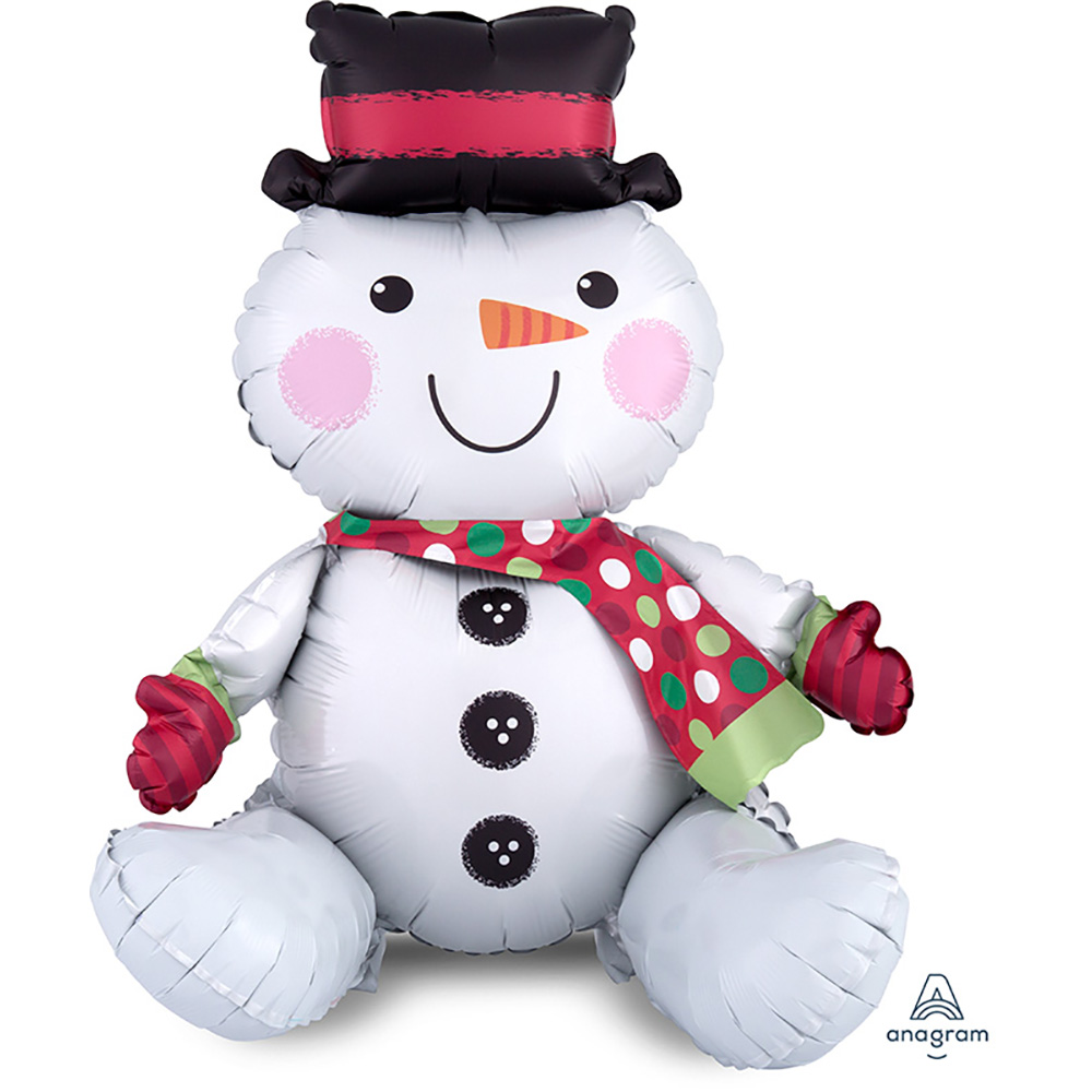 CI:Multi Sitting Snowman