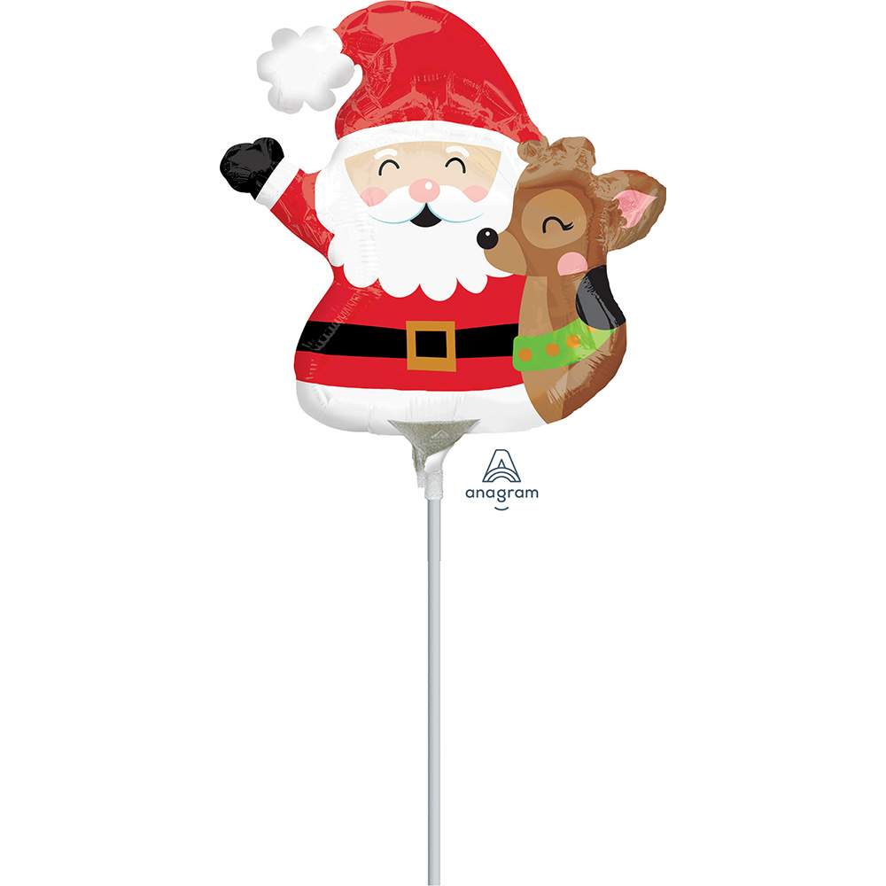 Mini Shape Santa & Reindeer