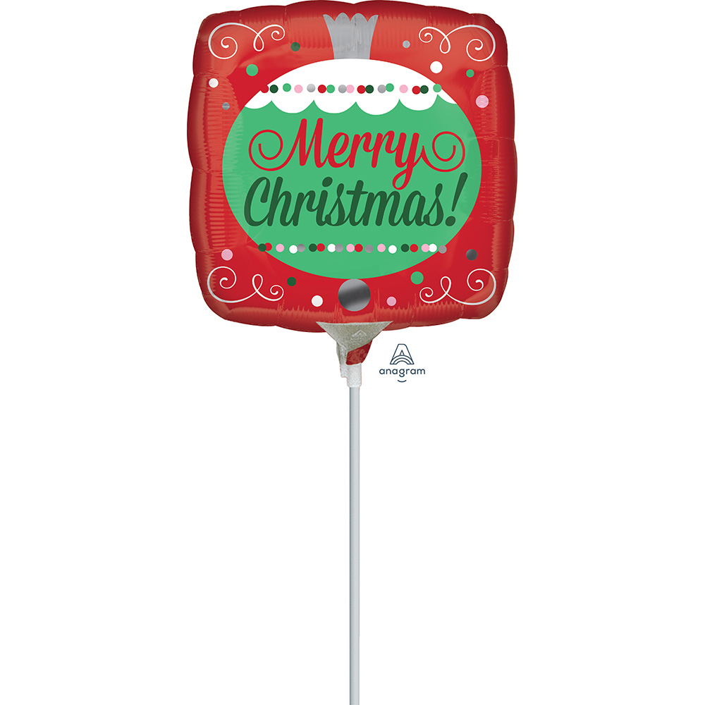 9″ Merry Christmas Ornament
