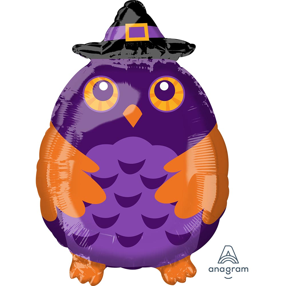 Witchy Owl Junior Shape