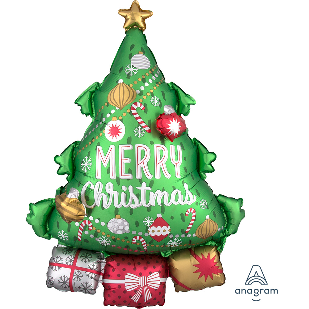Multi Christmas Tree Garland