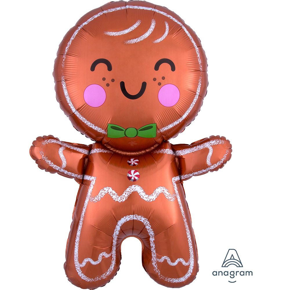 Happy GingerBread Man Super Shape