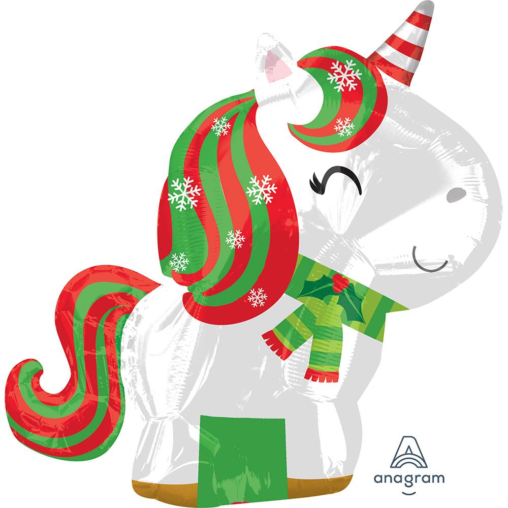 Christmas Unicorn Junior Shape