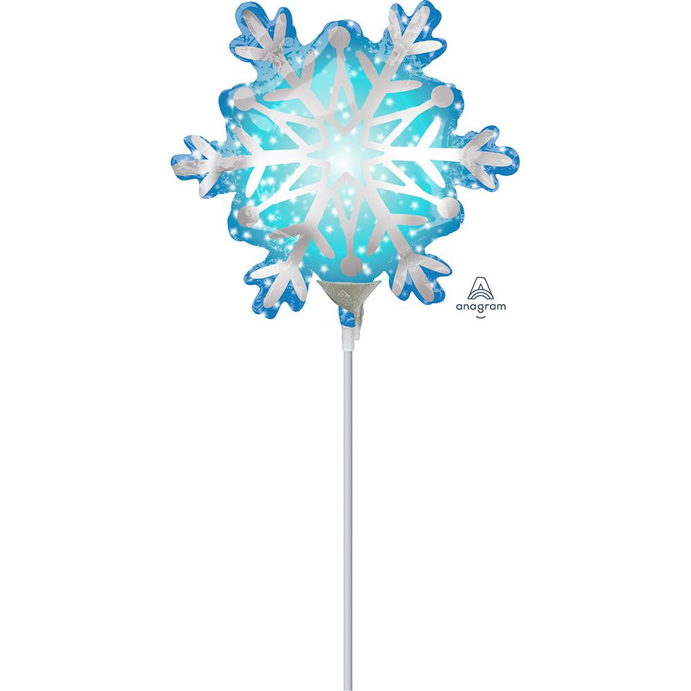 Mini Shape Satin Snowflake