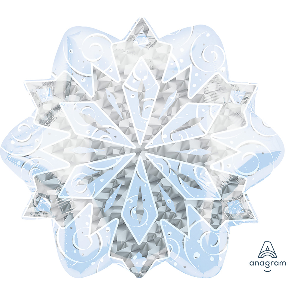 White Christmas Snowflake