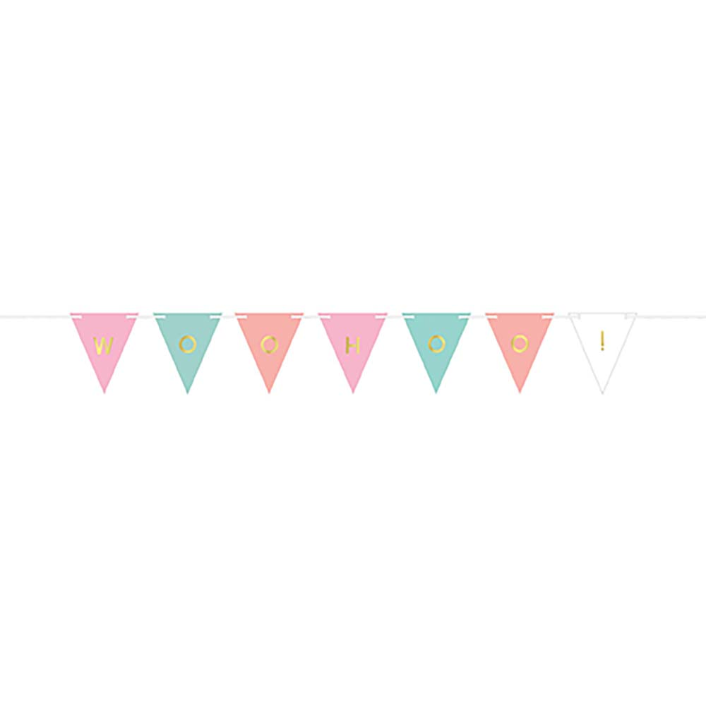 Customizable Paper Pennant Banner