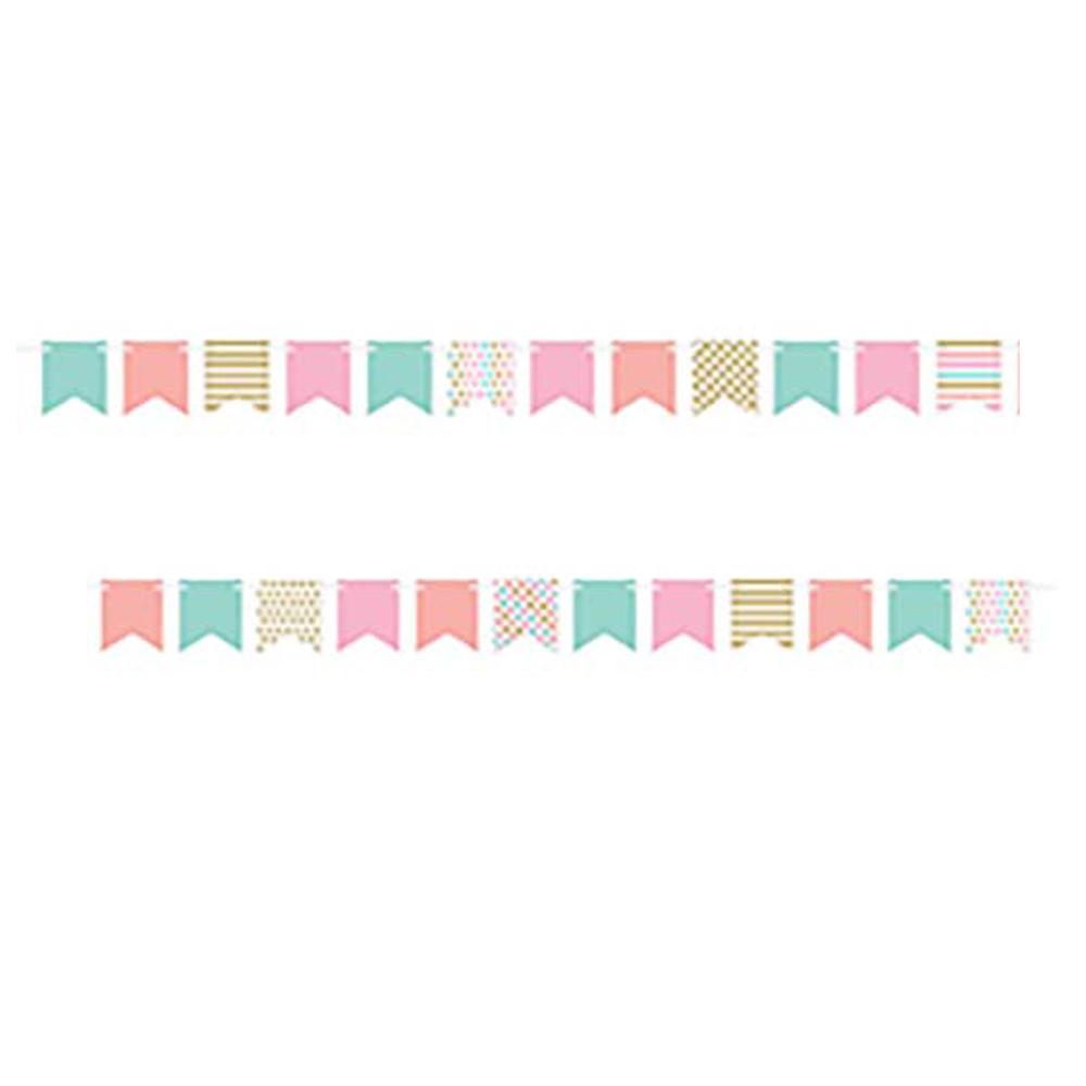 Mini Pennant Banner Pastel
