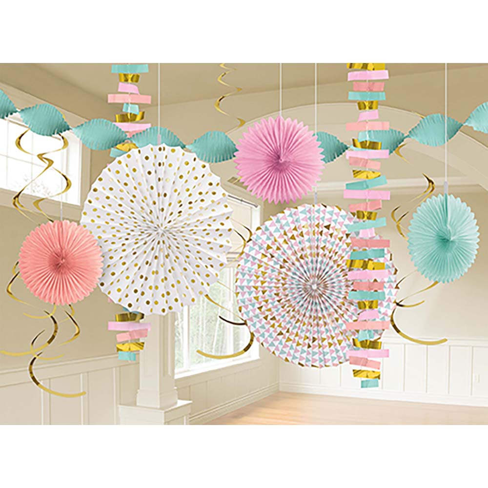 Pastel Decorating Kit Paper & Foil