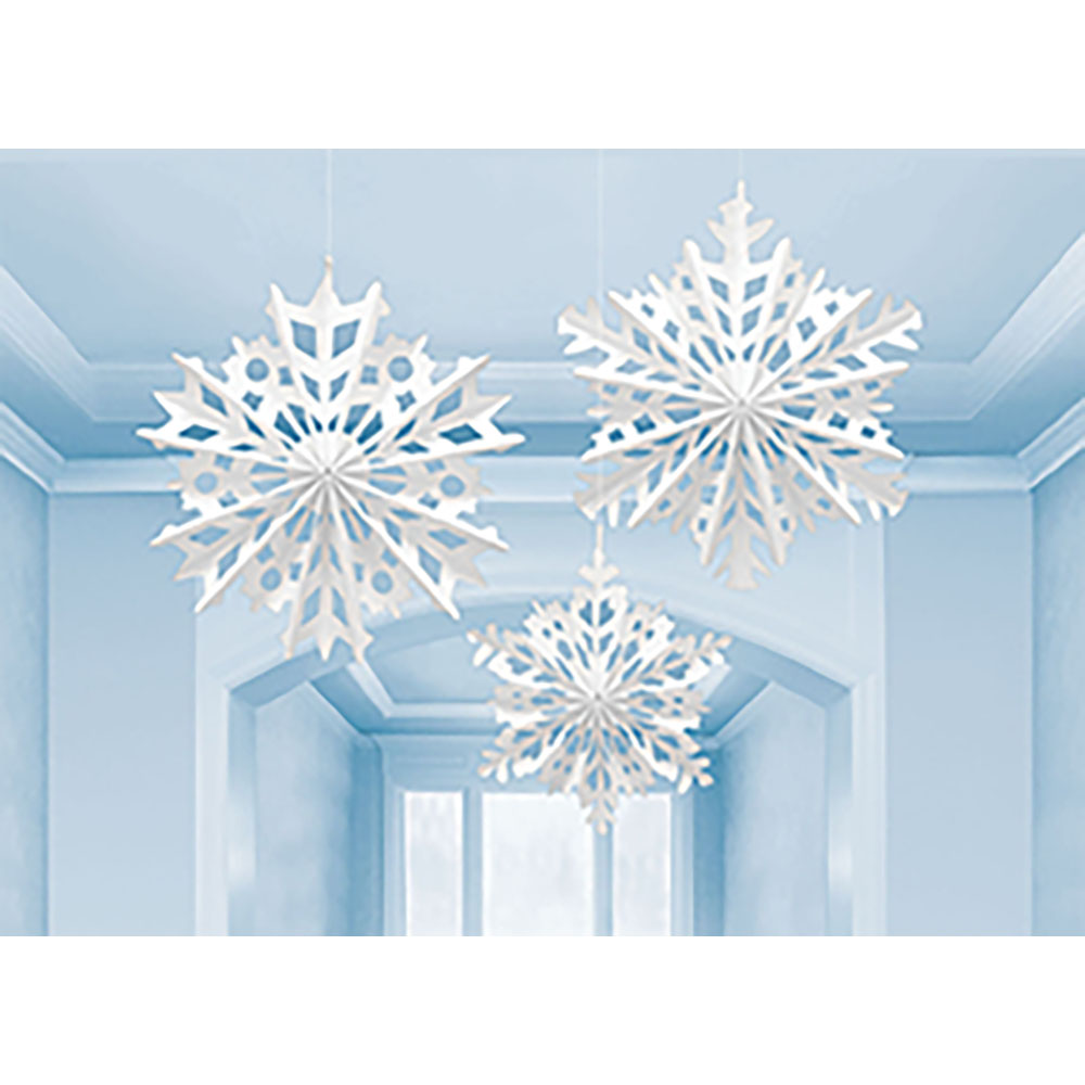 Snowflake Fan Decorating Kit