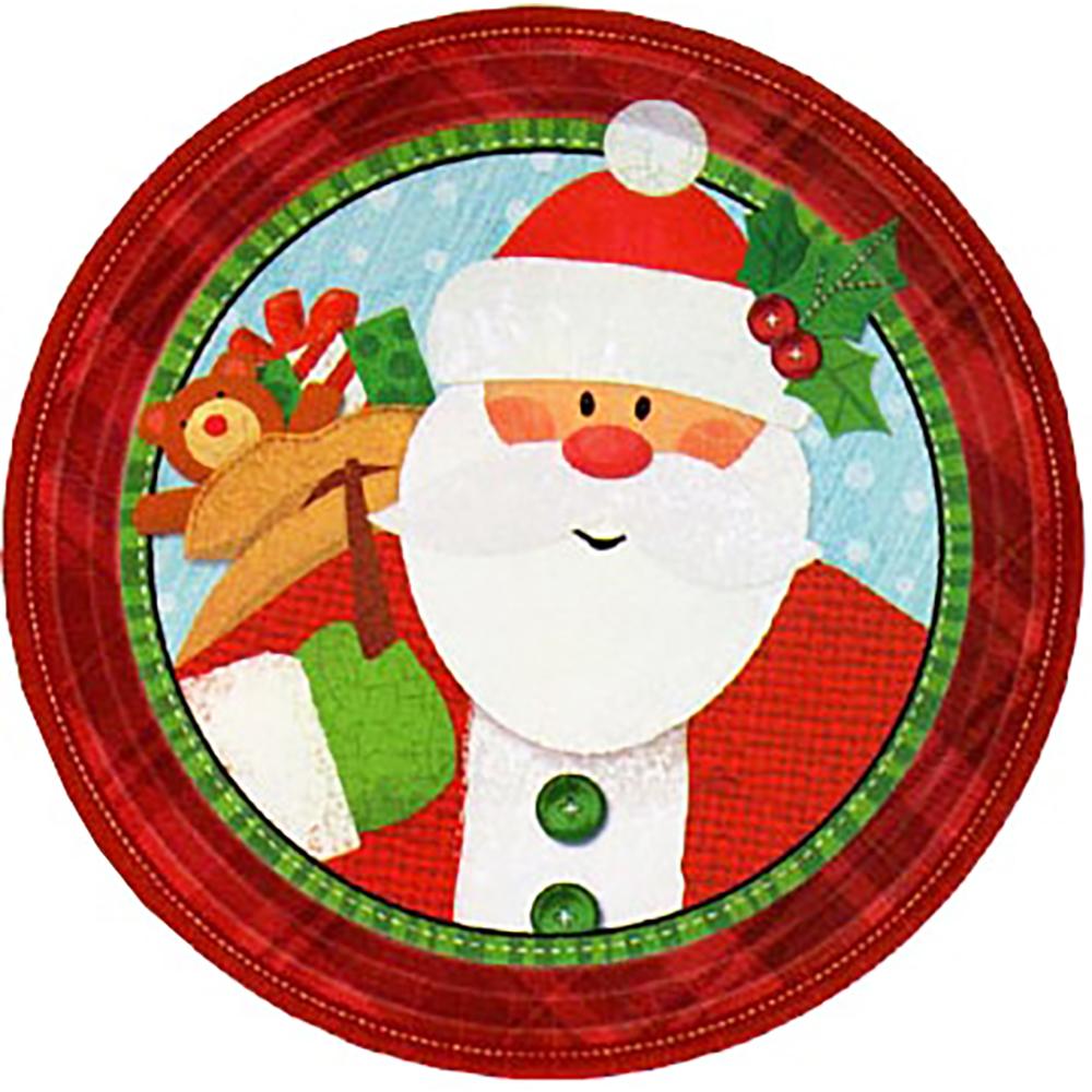 7″ Plate Crafty Christmas