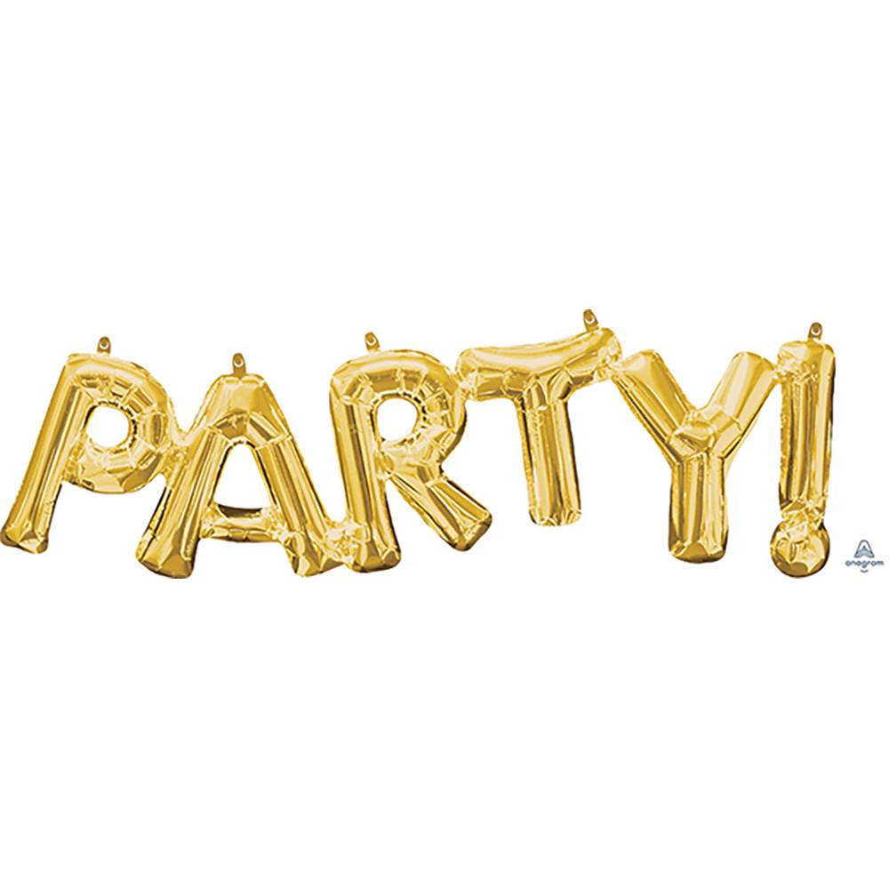 """""""PARTY"""" Gold"""