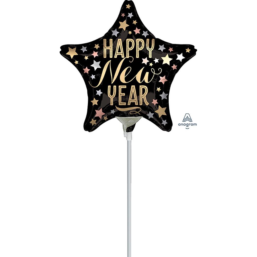 9″ Satin New Year