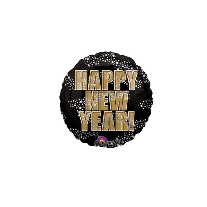 4″ Happy New Year Stars