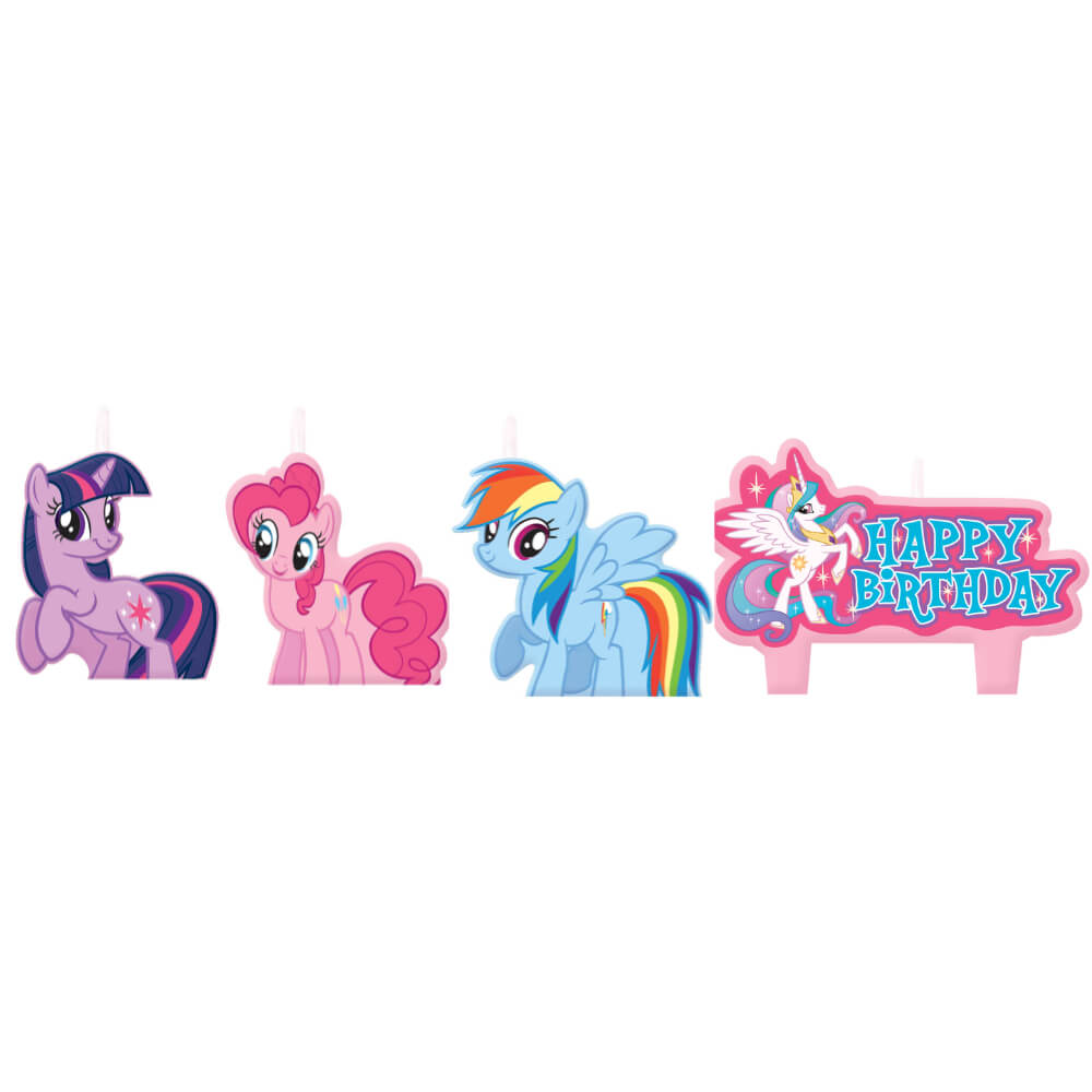 Birthday Candle Set My Little Pony Friendship