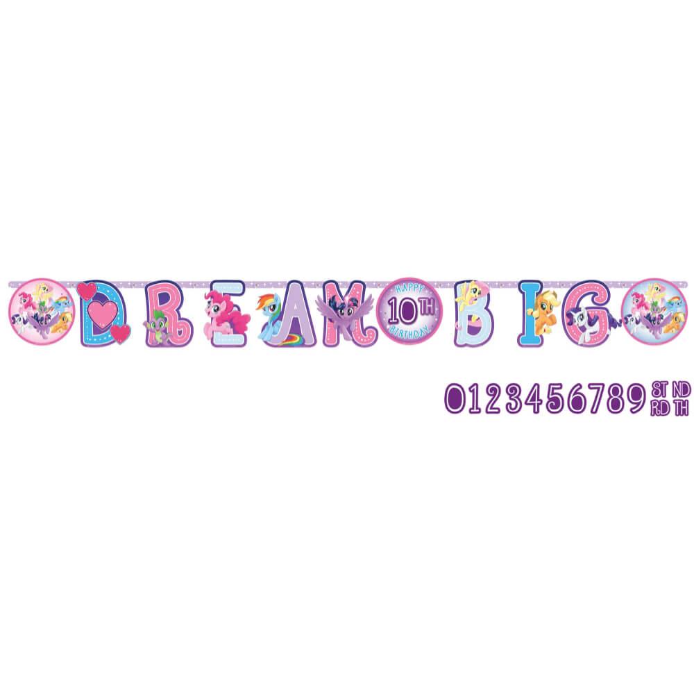 Jumbo Add-An Age Banner My Little Pony Friendship Adventures™