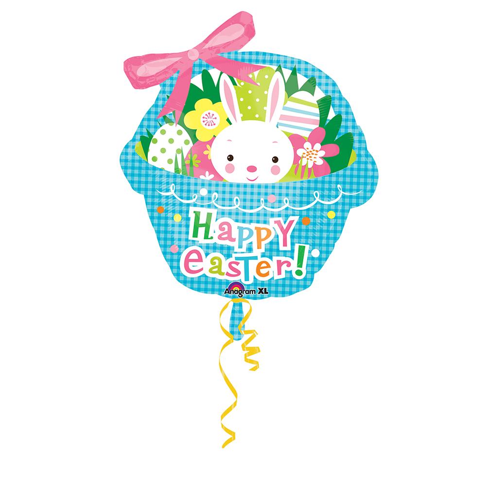 *Blue Easter Basket Super Shape