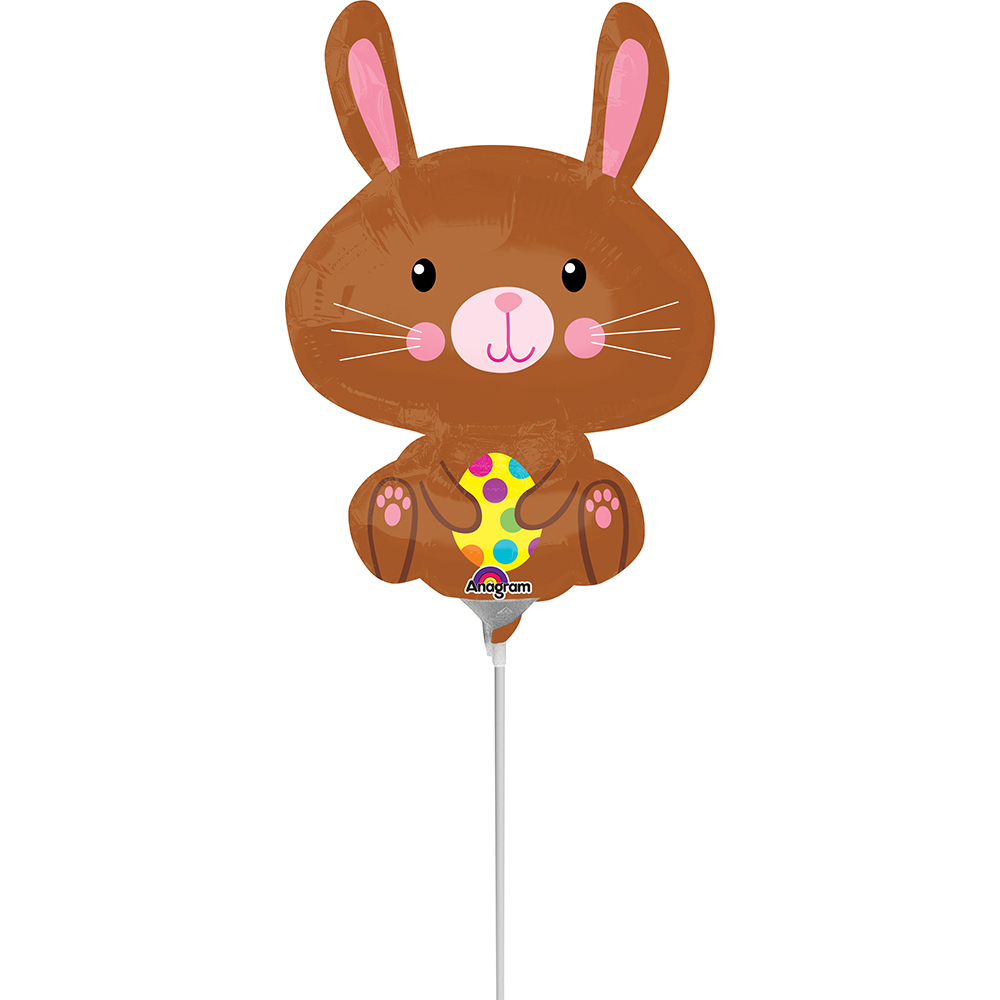 *Mini Shape Easter Bunny with Yellow Egg