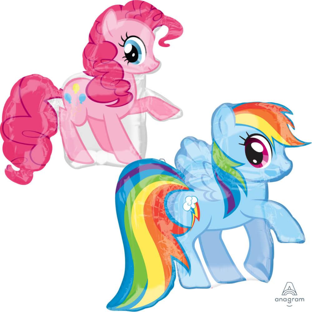 Pinkie Pie / Rainbow Dash Super Shape