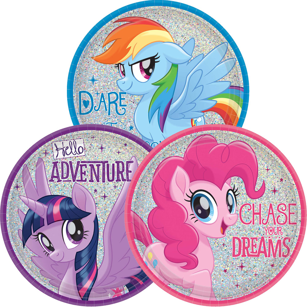 7″ Prismatic Plate My Little Pony Friendship Adventures™