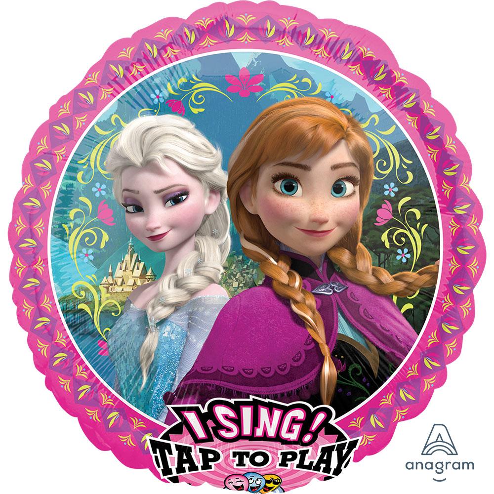 30324 シンギングバルーン アナと雪の女王