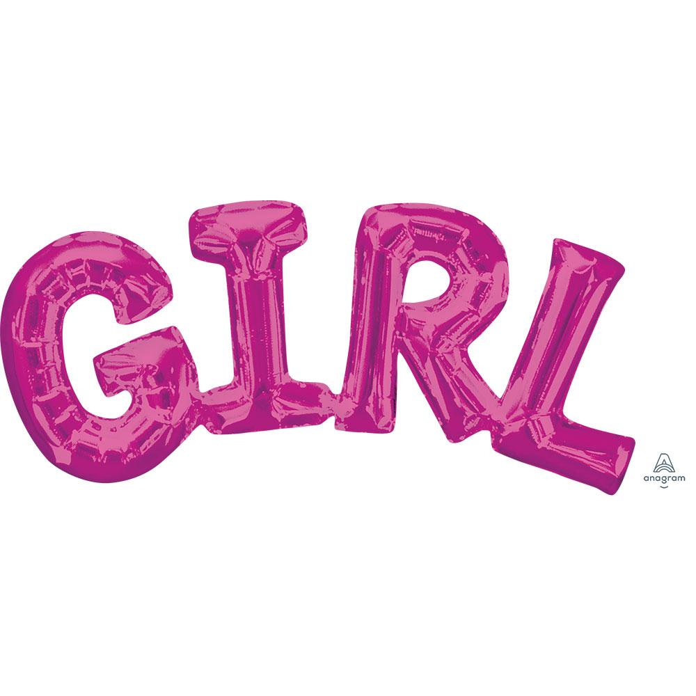 33097 「GIRL」(ピンク)