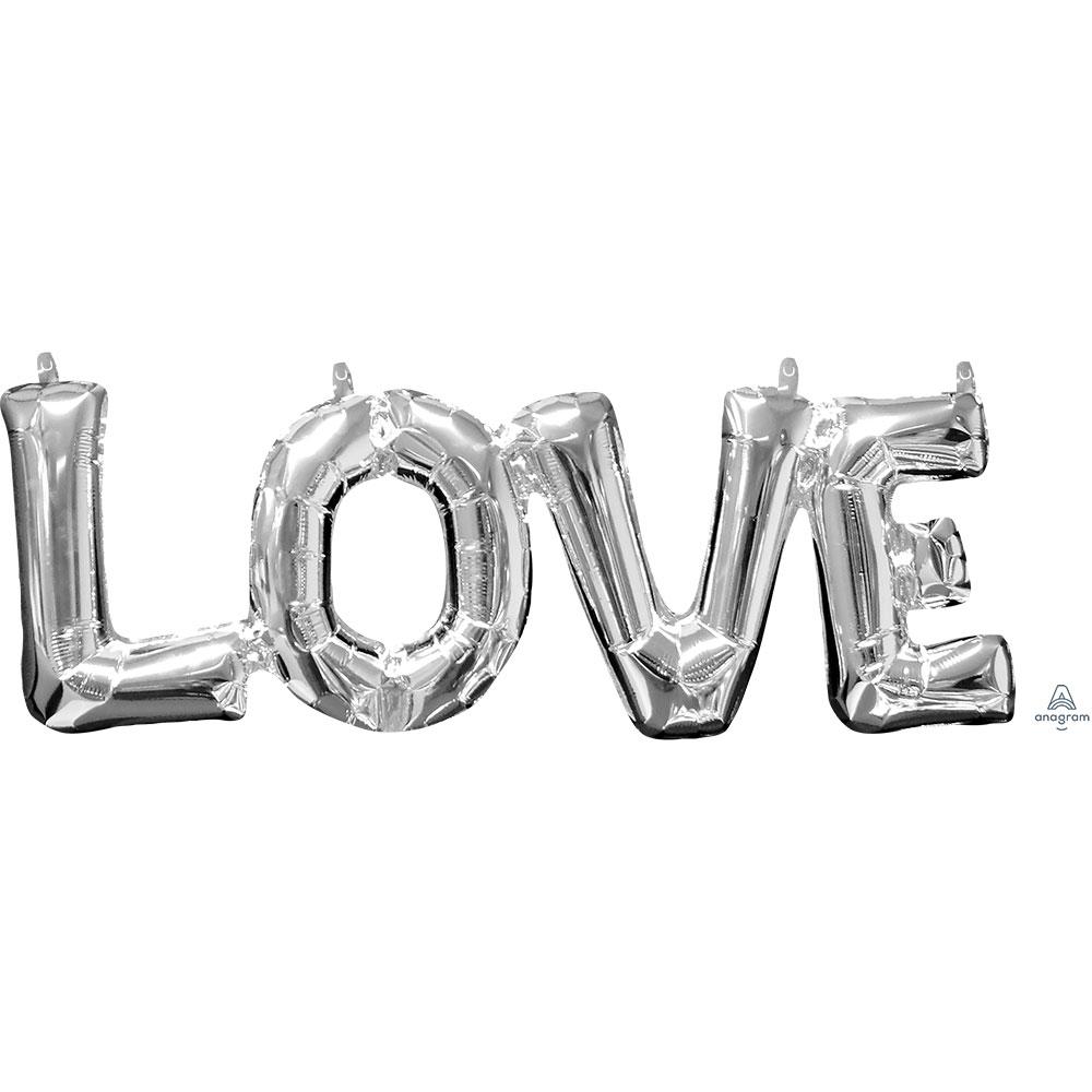 33101 「LOVE」(シルバー)