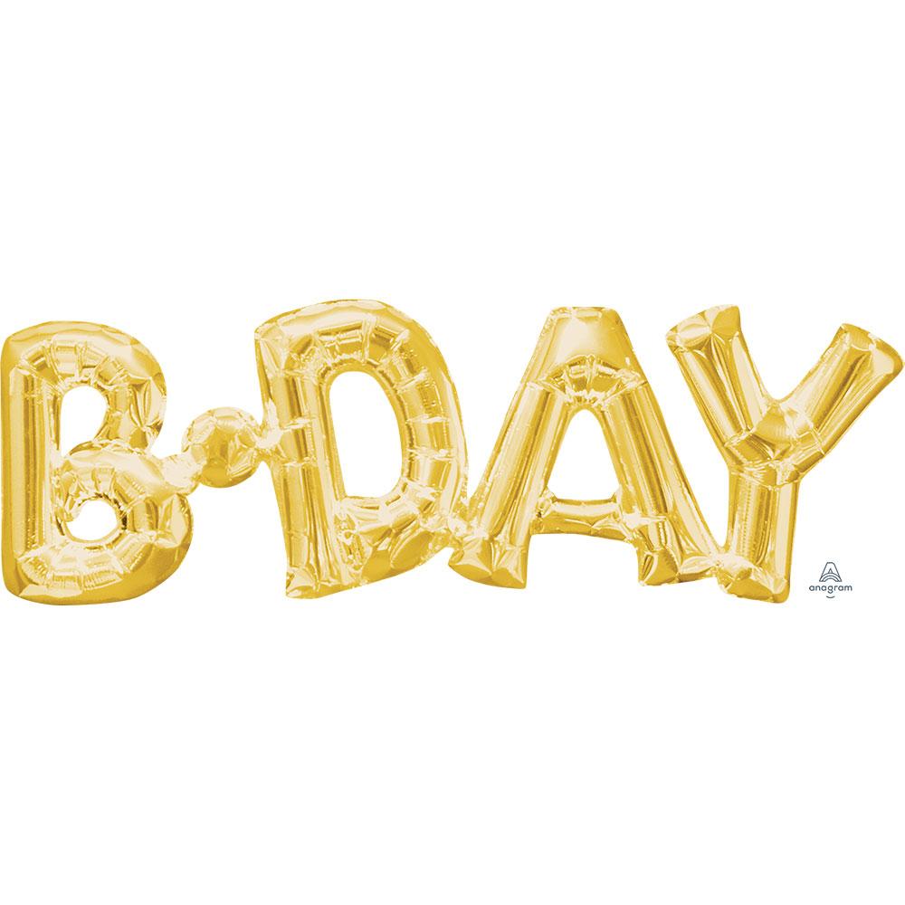 33756 「B-DAY」(ゴールド)