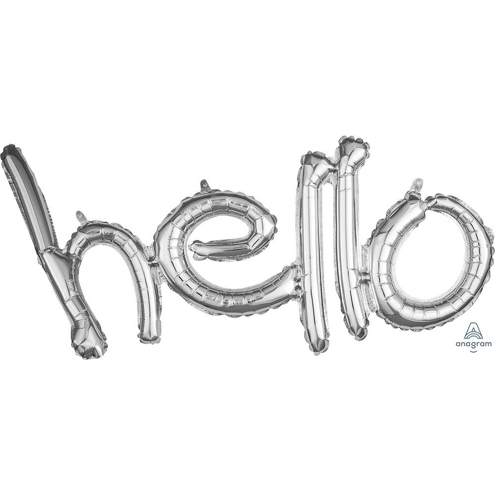 "36699 ""hello""(シルバー)"