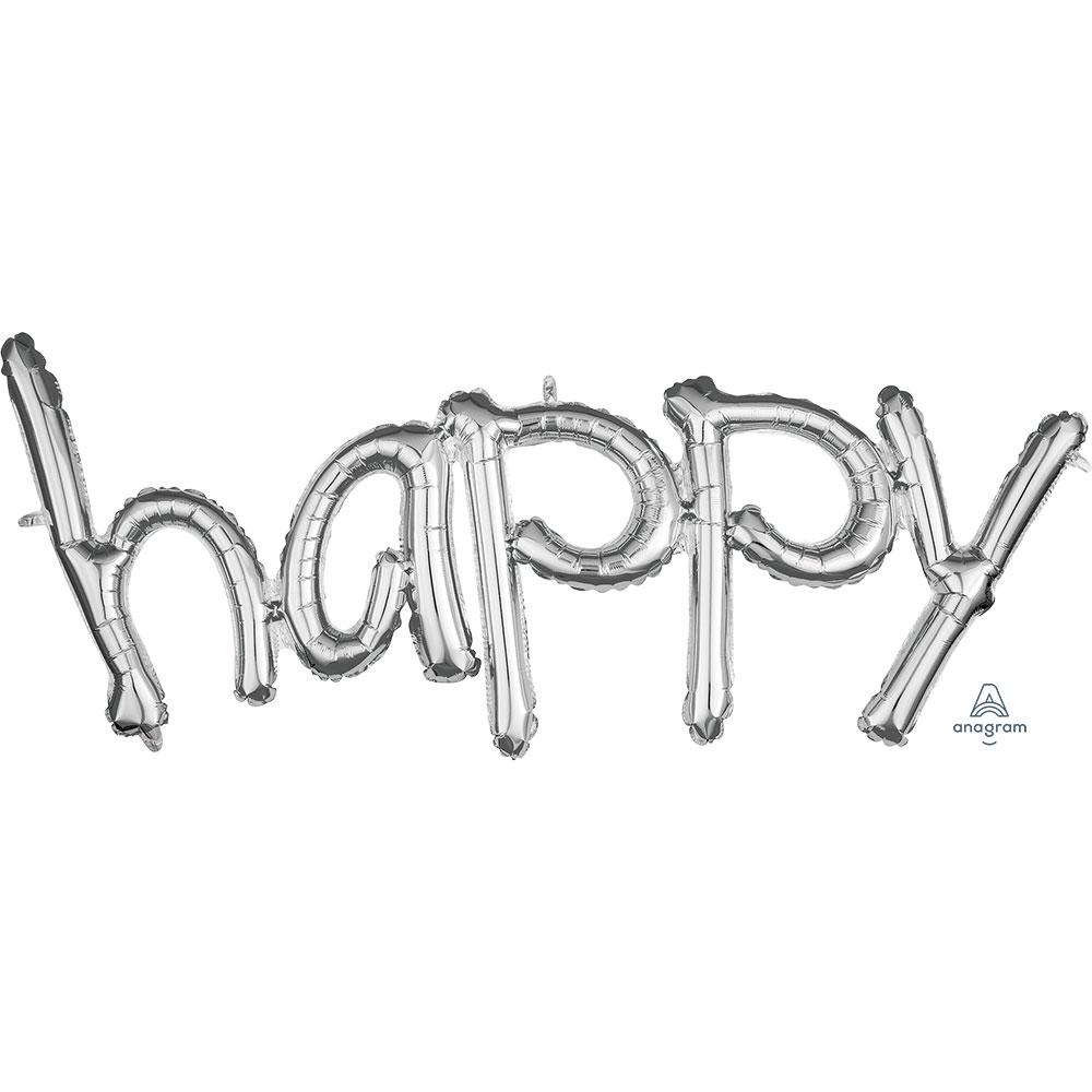 36700 「happy」(シルバー)