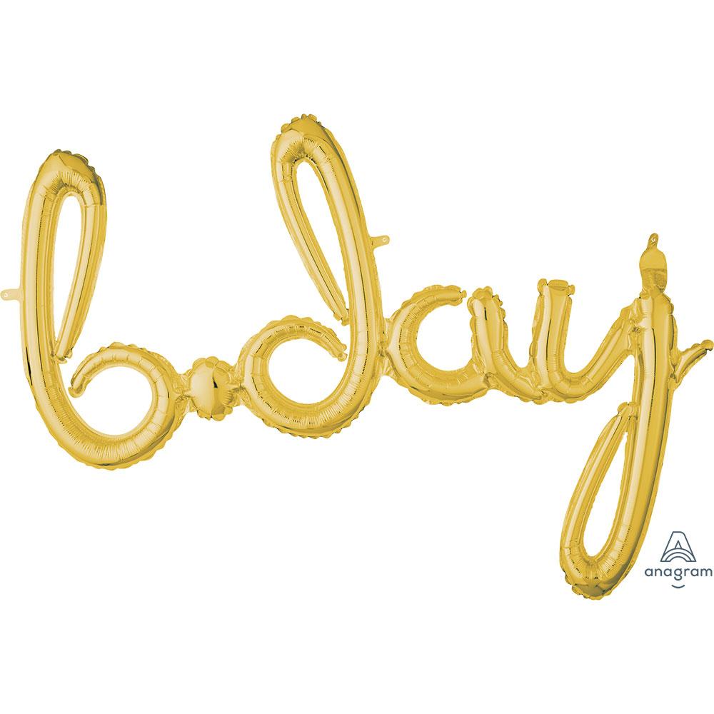 37645 「b-day」(ゴールド)