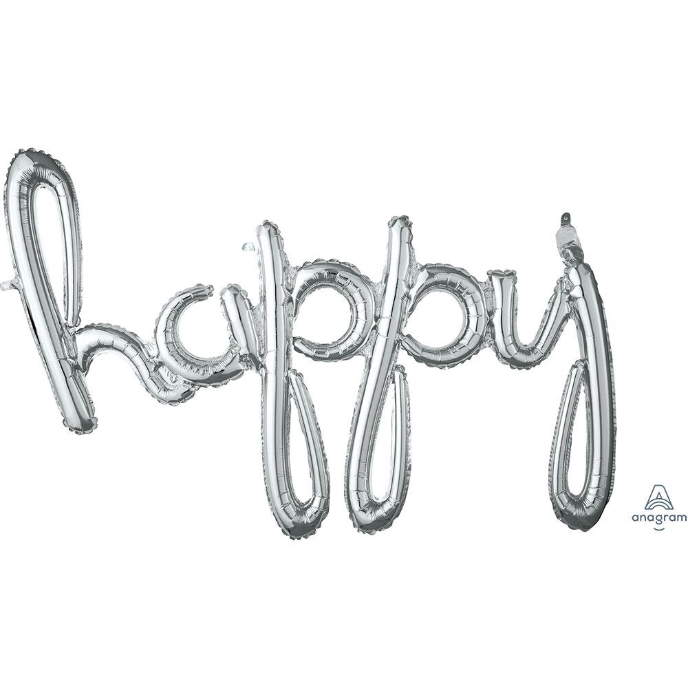 37656 「happy」(シルバー)