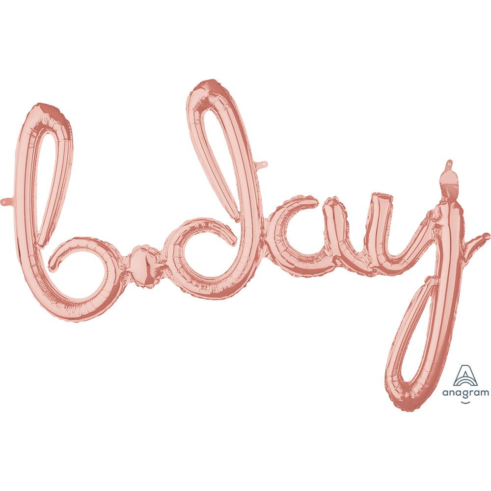 39156 「b-day」(ローズゴールド)