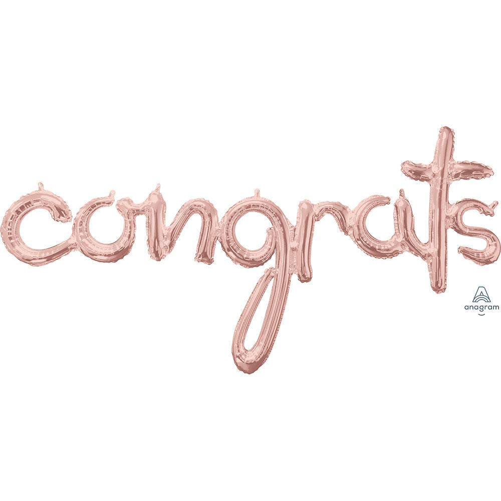 39158 「congrats」(ローズゴールド)